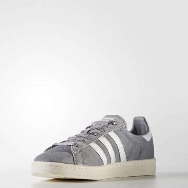 Adidas Campus Homme Grey/Footwear White/Chalk White Originals Chaussures NO: BA7535