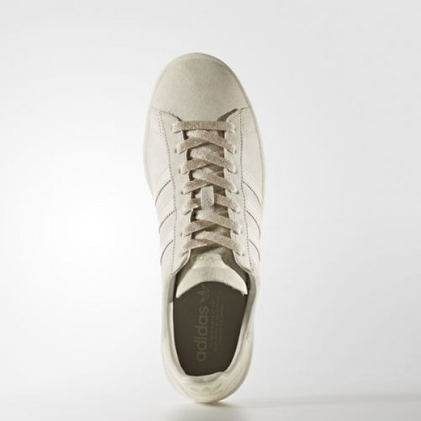 Adidas Campus Homme Clear Brown/Off White/Chalk White Originals Chaussures NO: BB0085