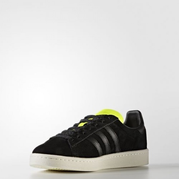 Adidas Campus Homme Core Black/Solar Yellow Originals Chaussures NO: BB0082