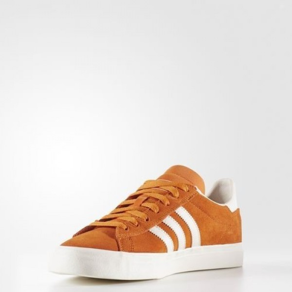 Adidas Campus Vulc Adv 2.0 Homme Tactile Orange/Chalk White Originals Chaussures NO: BB8524
