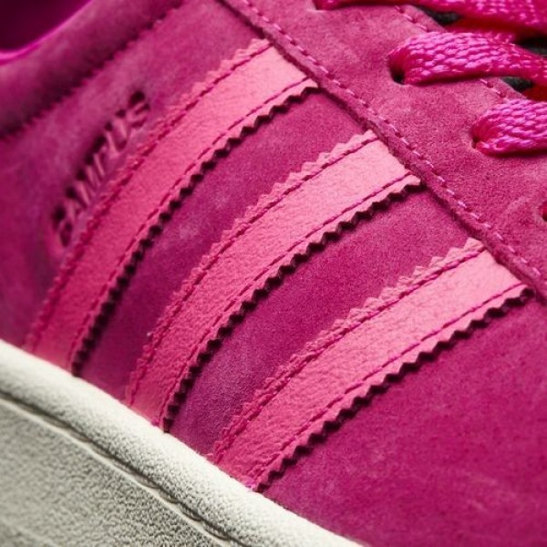 Adidas Campus Femme Shock Pink/Core Black Originals Chaussures NO: BB0081