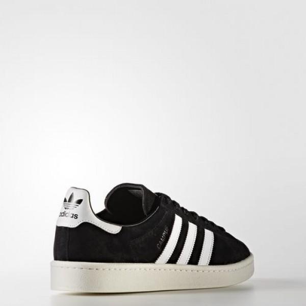 Adidas Campus Homme Core Black/Footwear White/Chalk White Originals Chaussures NO: BB0080