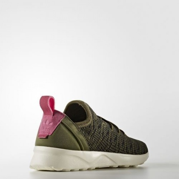Adidas Zx Flux Adv Virtue Femme Olive Cargo/Core Black/Shock Pink Originals Chaussures NO: BB2316