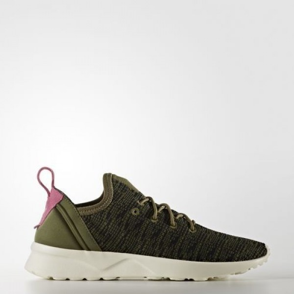 Adidas Zx Flux Adv Virtue Femme Olive Cargo/Core B...