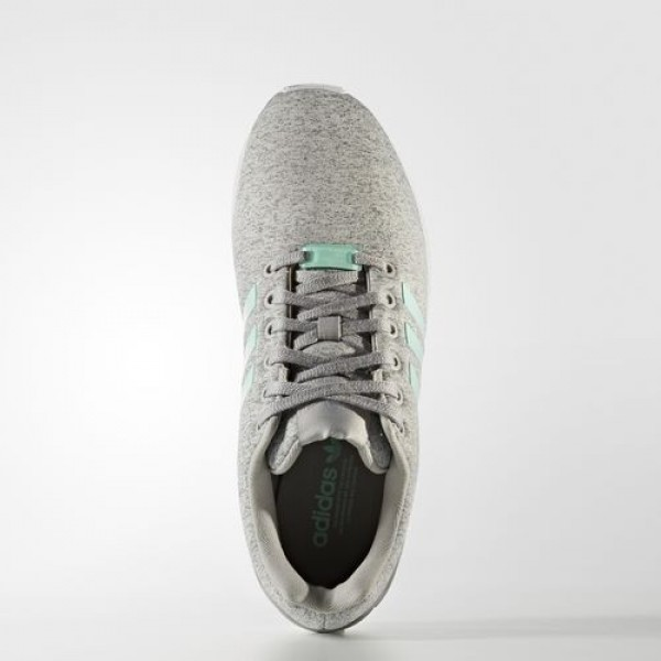 Adidas Zx Flux Femme Medium Grey Heather/Easy Mint/Footwear White Originals Chaussures NO: BB2259