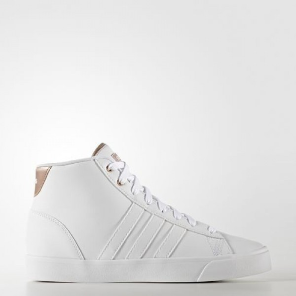 Adidas Cloudfoam Daily Qt Mid Femme Footwear White/Copper Metallic neo Chaussures NO: AW4011