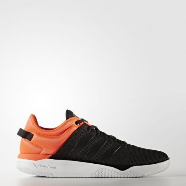Adidas Cloudfoam Swish Homme Core Black/Solar Red ...
