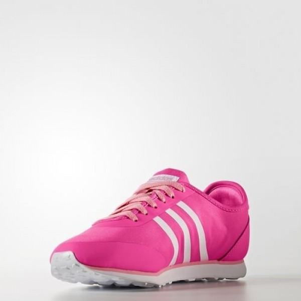 Adidas Cloudfoam Groove Tm Femme Shock Pink/Footwear White/Easy Pink neo Chaussures NO: B74690