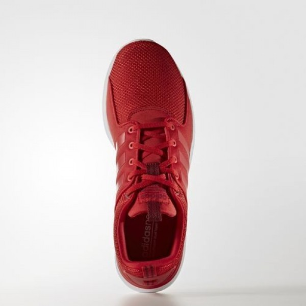 Adidas Cloudfoam Lite Racer Homme Scarlet/Collegiate Burgundy neo Chaussures NO: AW4029