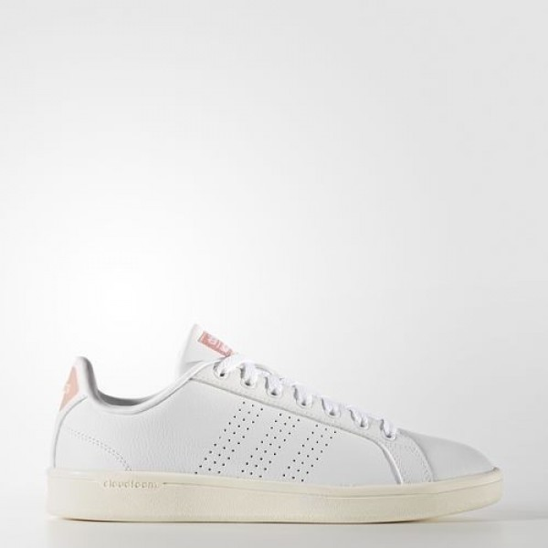 Adidas Cloudfoam Advantage Clean Femme Footwear Wh...