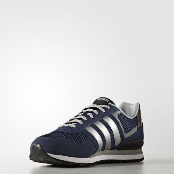 Adidas 10K Homme Collegiate Navy/Matte Silver/Clear Onix neo Chaussures NO: AW3855