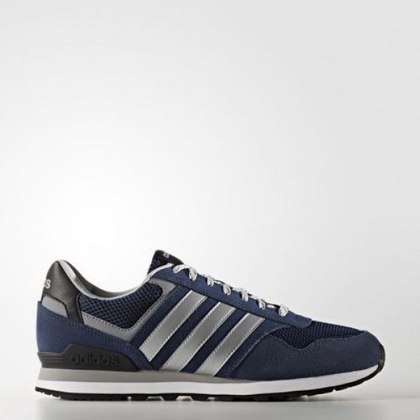 Adidas 10K Homme Collegiate Navy/Matte Silver/Clea...