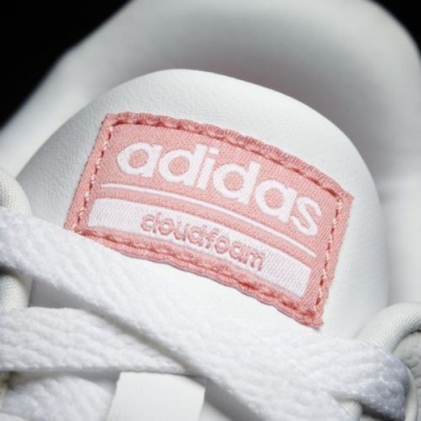 Adidas Cloudfoam Advantage Clean Femme Footwear White/Ray Pink neo Chaussures NO: AW3974