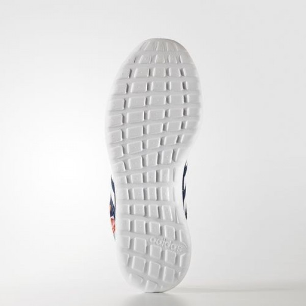 Adidas Cloudfoam Lite Racer Femme Mystery Blue/Footwear White/Shock Red neo Chaussures NO: AW4037