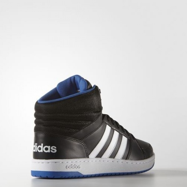Adidas Hoops Vs Mid Homme Core Black/Footwear White/Blue neo Chaussures NO: F99588