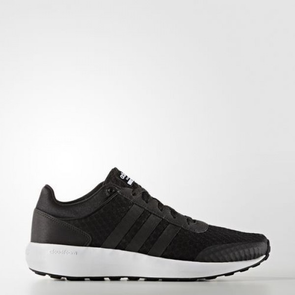 Adidas Cloudfoam Race Homme Core Black/Footwear Wh...