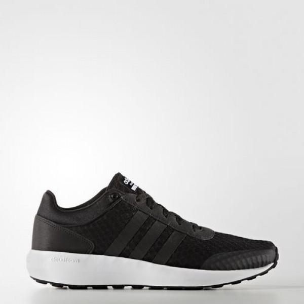 Adidas Cloudfoam Race Homme Core Black/Footwear Wh...