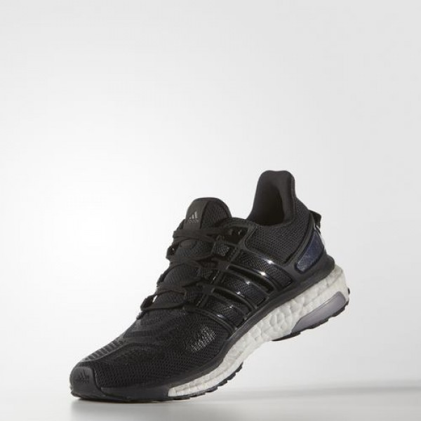Adidas Energy Boost 3 Femme Core Black/Dark Grey/Dark Grey Heather Solid Grey Running Chaussures NO: AQ1869