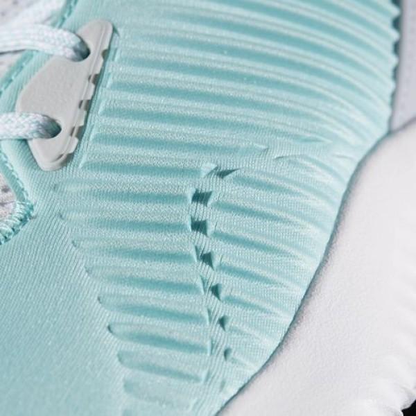 Adidas Alphabounce Lux Femme Clear Aqua/Footwear White/Clear Grey Running Chaussures NO: B39268
