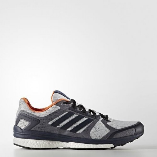 Adidas Supernova Sequence 9 Femme Lgh Solid Grey/Night Navy/Midnight Grey Running Chaussures NO: BB1612