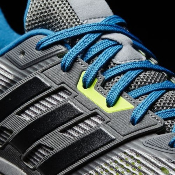 Adidas Supernova Homme Vista Grey/Core Black/Unity Blue Running Chaussures NO: BA9933