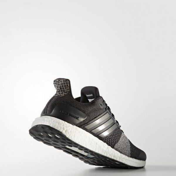 Adidas Ultra Boost St Homme Core Black/Iron Metallic/Dark Grey Heather Solid Grey Running Chaussures NO: BA7838