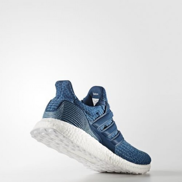 Adidas Ultra Boost Parley Homme Blue Night / Core Blue / Vapour Blue Running Chaussures NO: BB4762