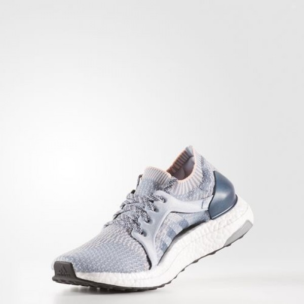 Adidas Ultra Boost X Femme Tactile Blue/Easy Blue/Haze Coral Running Chaussures NO: BB1693