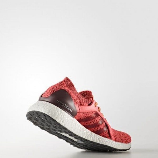 Adidas Ultra Boost X Femme Easy Coral/Maroon/Glow Orange Running Chaussures NO: BB1694