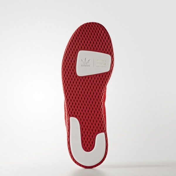 Originals Chaussure Pharrell Williams Tennis Hu Couleur Scarlet/Scarlet/Footwear White (BY8720)