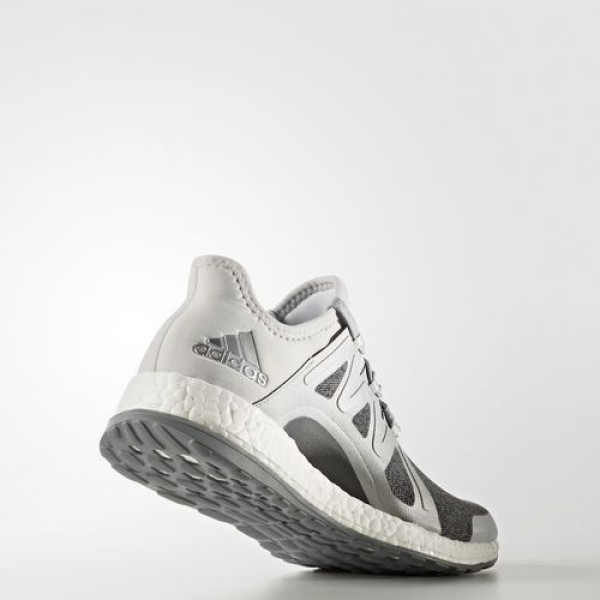 Adidas Pure Boost Xpose Femme Clear Grey/Silver Metallic/Mid Grey Running Chaussures NO: BB1734