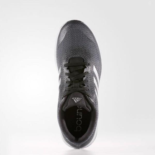 Adidas Mana Bounce Femme Core Black/Silver Metallic/Onix Running Chaussures NO: B39026