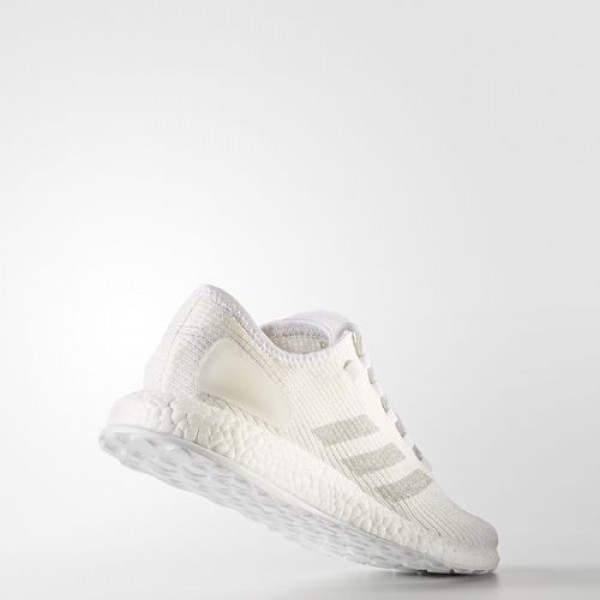 Adidas Pure Boost Clima Homme Footwear White/Clear Grey/Chalk White Running Chaussures NO: BA9058