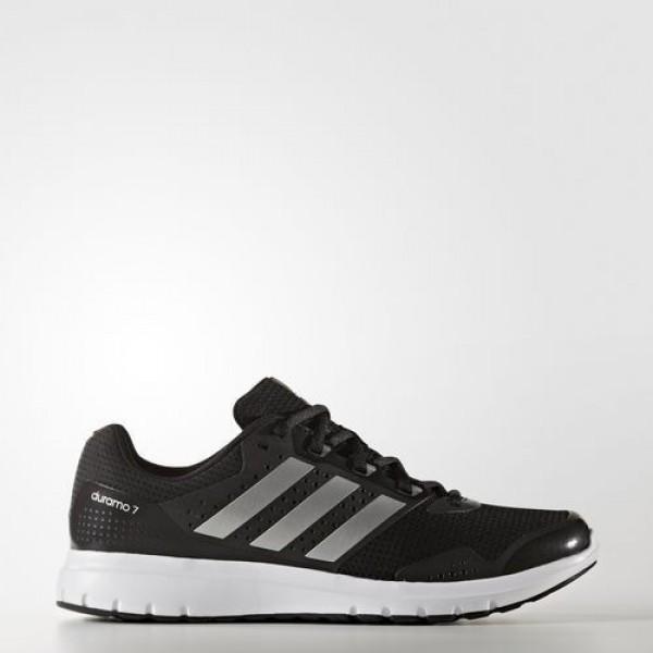 Adidas Duramo 7 Homme Core Black/Silver Metallic Running Chaussures NO: BA7384