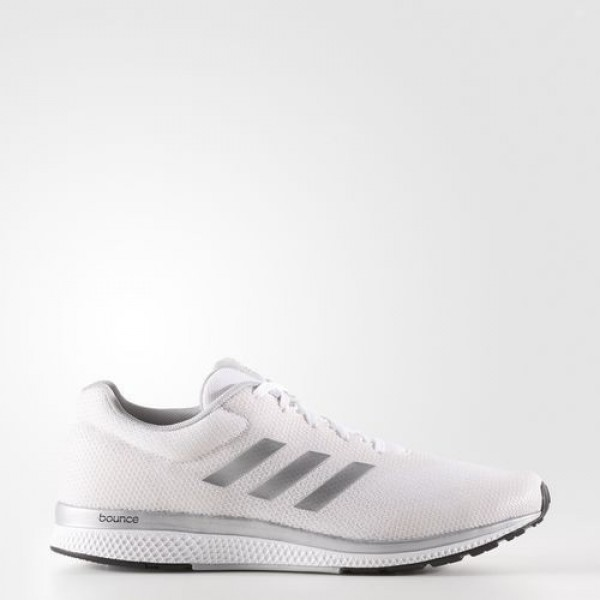 Adidas Mana Bounce 2.0 Homme Footwear White/Silver...