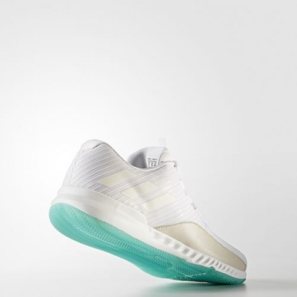 Adidas Crazytrain Bounce Chill Homme Footwear White/Energy Blue Training Chaussures NO: BA8968