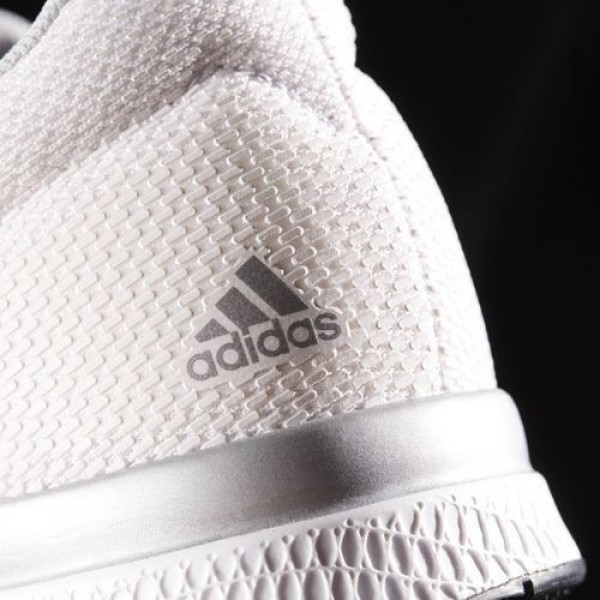 Adidas Mana Bounce 2.0 Homme Footwear White/Silver Metallic/Clear Onix Running Chaussures NO: BW0564