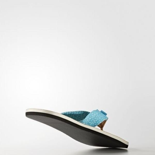 Adidas Tong Eezay Parley Femme Non Dyed/Chalk White/Lab Green Natation Chaussures NO: BA8825