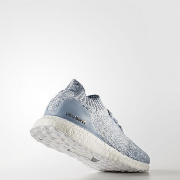 Adidas Ultra Boost Uncaged Femme Crystal White/Tactile Blue/Easy Blue Running Chaussures NO: BA7840