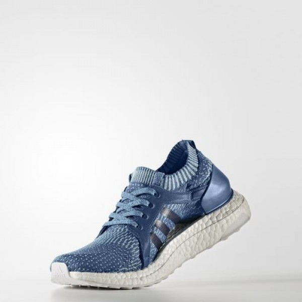 Adidas Ultra Boost X Parley Femme Core Blue / Core Blue / Vapour Blue Running Chaussures NO: BB1978