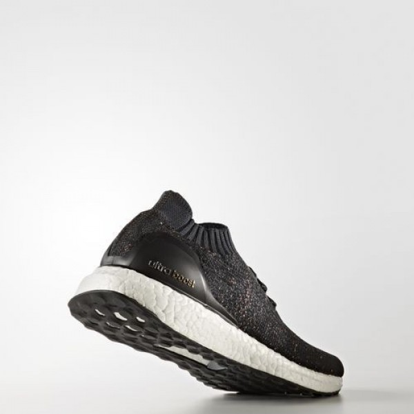Adidas Ultra Boost Uncaged Femme Core Black/Dark Grey/Easy Green Running Chaussures NO: BA9796
