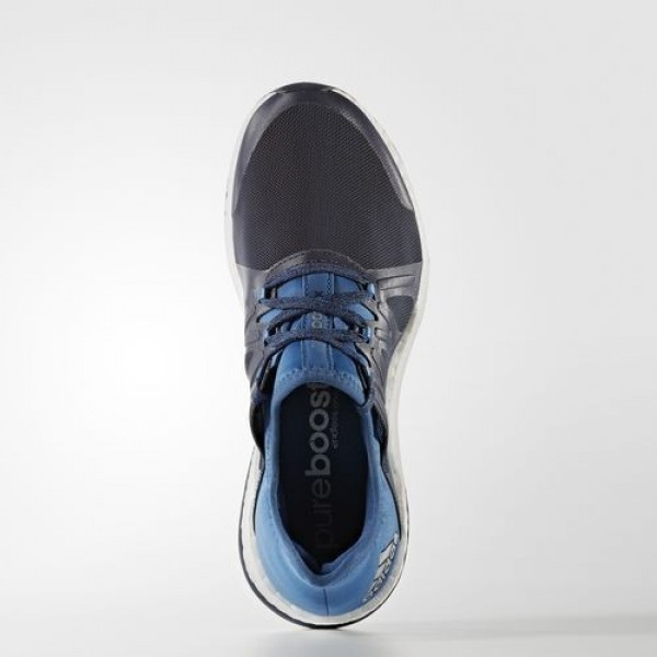 Adidas Pure Boost Xpose Femme Midnight Grey/Core Blue/Easy Blue Running Chaussures NO: BB6018