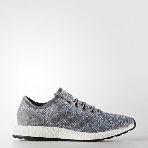 Adidas Pure Boost Homme Grey/Dark Grey Heather Sol...