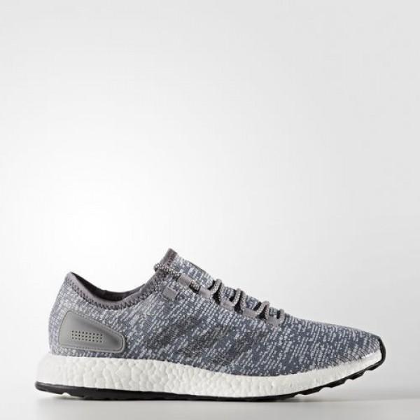 Adidas Pure Boost Homme Grey/Dark Grey Heather Sol...