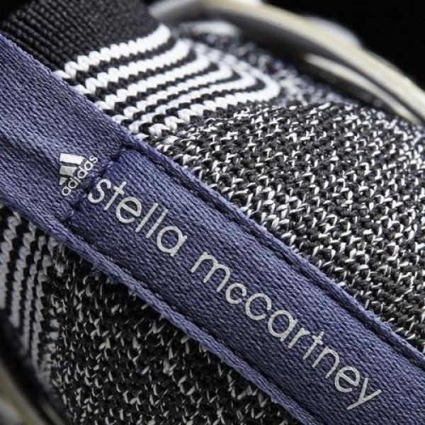 Adidas Crazymove Bounce Femme Black-White/White-Black/Plum by Stella McCartney Chaussures NO: BA9497