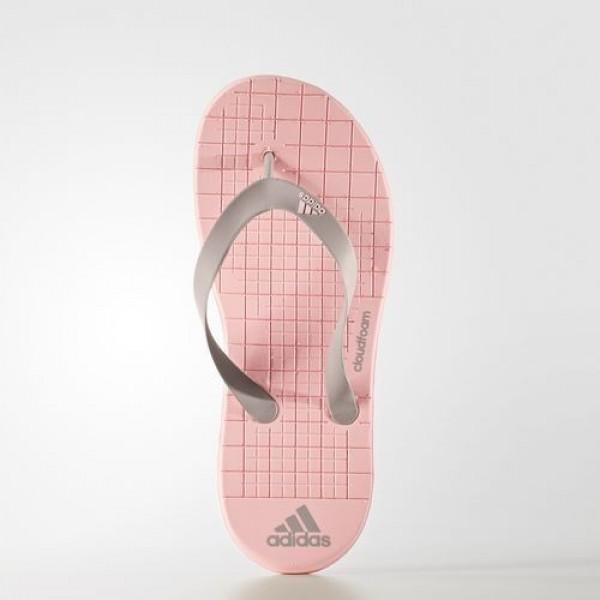 Adidas Tong Eezay Cloudfoam Femme Haze Coral/Vapour Grey Natation Chaussures NO: BA8794