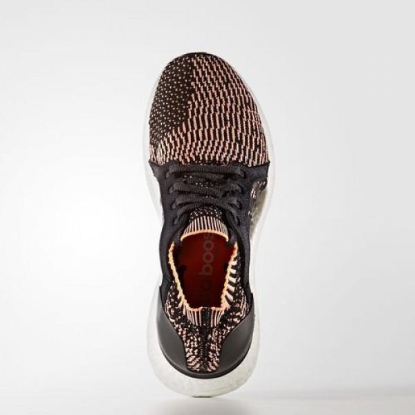 Adidas Ultra Boost X Femme Core Black/Easy Blue/Glow Orange Running Chaussures NO: BA8278