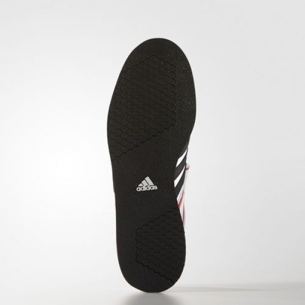Adidas d'haltérophilie power perfect 2 Homme Footwear White/Core Black/Radiant Red Training Chaussures NO: G17563