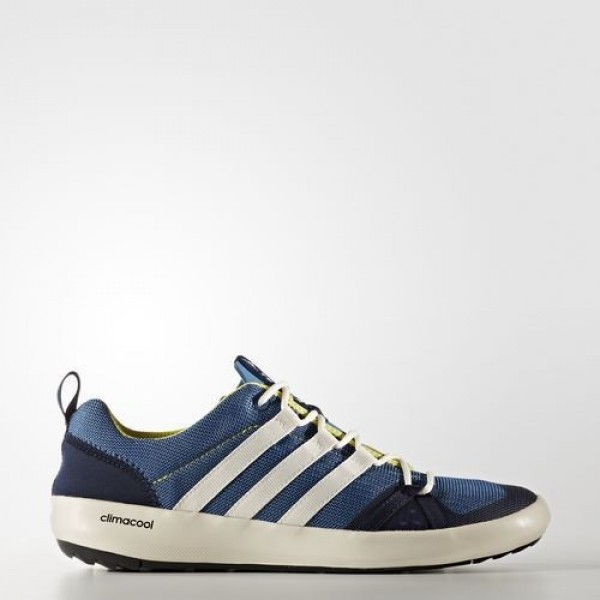 Adidas Terrex Climacool Boat Homme Core Blue/Chalk White/Bright Yellow Chaussures NO: BB1908