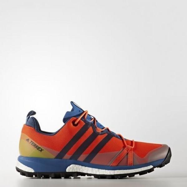 Adidas Terrex Agravic Homme Energy/Core Blue/Core ...